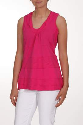 Neon Buddha Pink Sleeveless Top