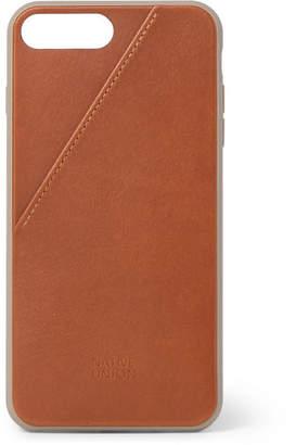 Native Union - Clic Card Leather iPhone 7 Plus and 8 Plus Case - Tan