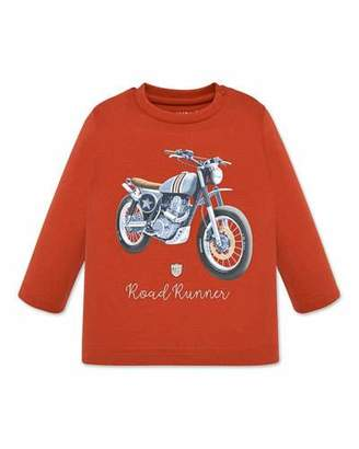Mayoral Boy's Roadrunner Motorcycle Tee, Size 12-36 Months