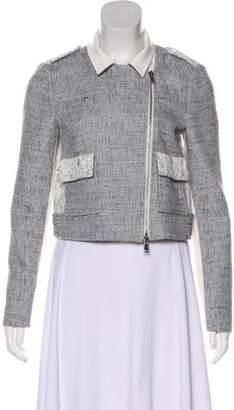 Rebecca Taylor Knit Biker Jacket