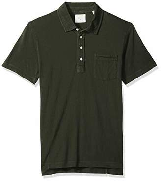 Billy Reid Men's Short Sleeve Pensacola Polo Shirt with Pocket
