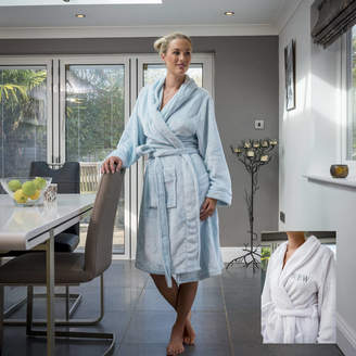 ab8807e6 Duncan Stewart Personalised Supersoft Fleece Dressing Gown
