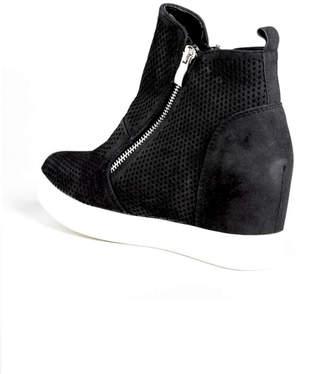 Oc Avenue Black Wedge Sneakers
