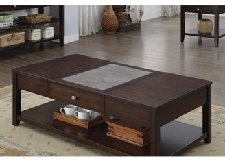 Norton Co. Furniture of America Espresso Celestite Lift Top Coffee Table