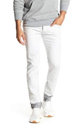 Diesel Sleenker Slim Skinny Distressed Jeans