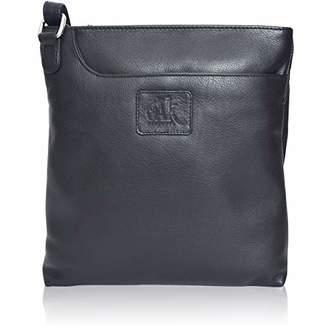 Premium Leather Crossbody Slim Bag for Women - Handmade Cross Body Over the Shoulder Purse Luxury Womens ()...