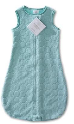 Swaddle Designs Microplush Sleeping Sack with 2-Way Zipper, Puff Circles, 3-6MO
