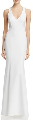 Avery G V-Neck T-Back Gown $258 thestylecure.com