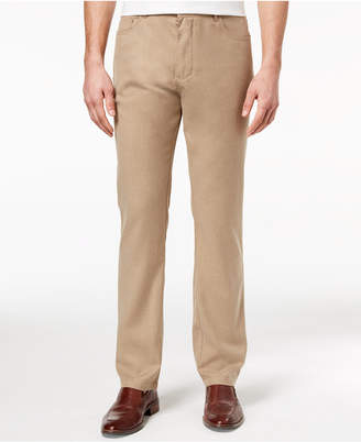 Ryan Seacrest Distinction Men's Slim-Fit Stretch Twill Five Pocket Pants, Created for Macy's