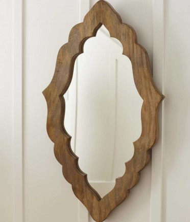 Hand-Carved  Moorish Mirror