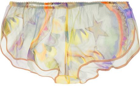 Stella McCartney Bella Wishing silk shorts