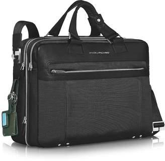 """Piquadro Link - Double Handle 15"""" Laptop Expandable Case"""