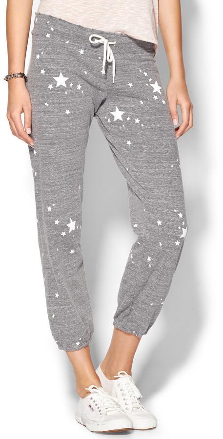 Monrow Star Vintage Sweat Pants
