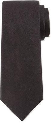 Lanvin Solid Silk Tie, Black $160 thestylecure.com