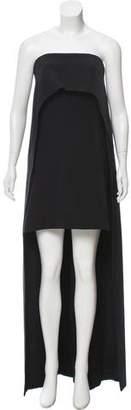 Kaufman Franco KAUFMANFRANCO Onyx Cape Dress