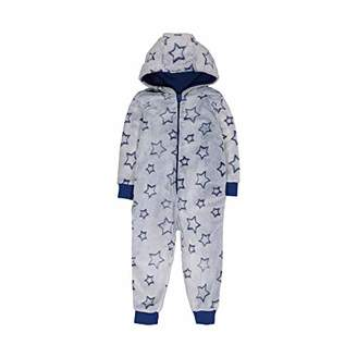 Mothercare Baby Boys Star Fluffy Onesie Pyjama Sets,(Size: 110)