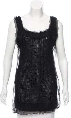Dolce & Gabbana Sleeveless Knit Tunic