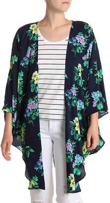 Cejon Hollywood Bouquet Kimono - Women's