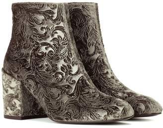 Stuart Weitzman Mona devore ankle boots