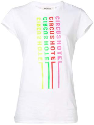 Circus Hotel logo print T-shirt