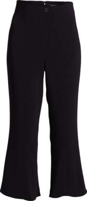 Cushnie et Ochs High Waisted Cropped Flare Pants