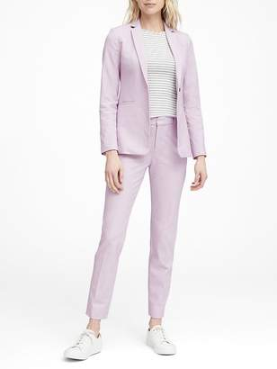 Banana Republic Petite Long and Lean-Fit Washable Blazer