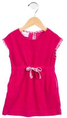 Rachel Riley Girls' Ruffled A-Line Dress