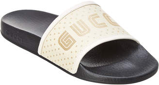 Gucci Cuccy Leather Slide
