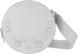 Studio 33 Circle Crossbody Bag with Floral Embellishment