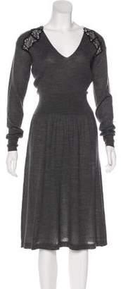 Rebecca Taylor Knit Midi Dress