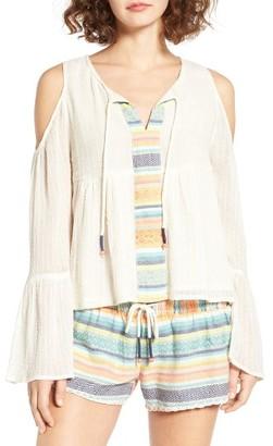 Women's Rip Curl Cold Shoulder Top $49.50 thestylecure.com