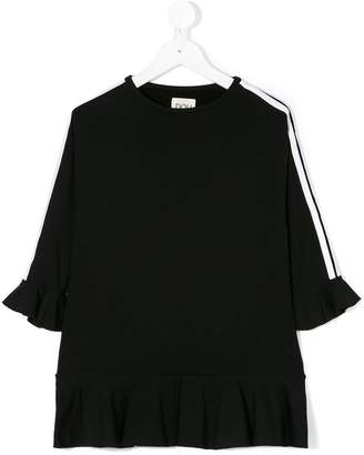 Douuod Kids side panel ruffled dress