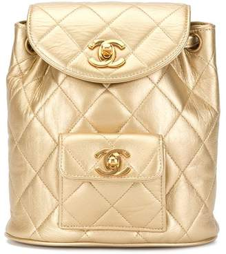 Chanel Pre-Owned CC chain backpack bag