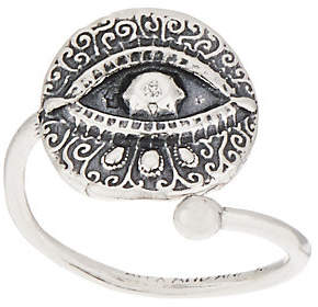 Alex and Ani Adjustable Ring Wrap,Sterling Silver