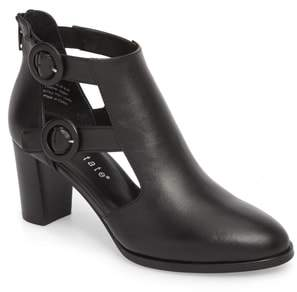 David Tate Exotic Caged Bootie