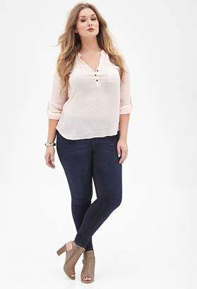 Forever 21 Plus Size Super-Soft Skinny Jeans