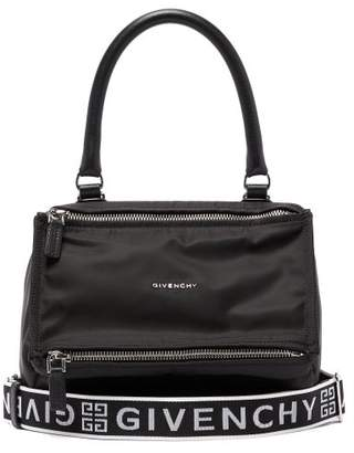 9c5ee8e115 Givenchy Pandora Nylon Bag - Womens - Black