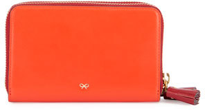 Anya HindmarchAnya Hindmarch Circulus Double Wallet, Red