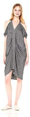 Max Studio MAXSTUDIO Women's End Cold Shoulder Dress