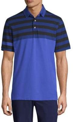Croton Greyson Stripe Short-Sleeve Polo
