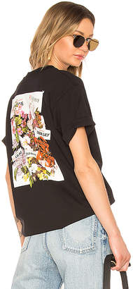 Off-White Flower Shop Oversize Tee