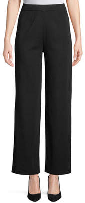 Misook Wide-Leg Knit Pull-On Pants, Plus Size