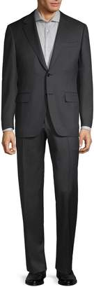 Canali Slim-Fit Wool Herringbone Suit