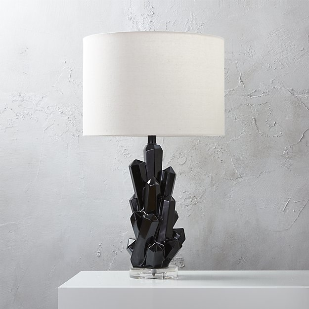 CB2 Crystal Table Lamp