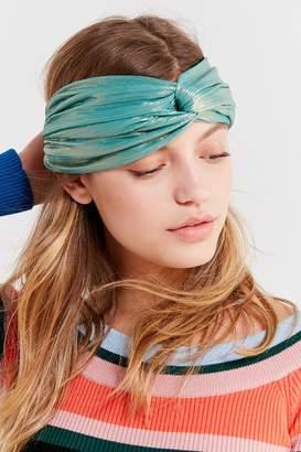 Urban Outfitters Metallic Twist Headwrap