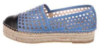 Loeffler Randall Mariko Perforated Espadrilles
