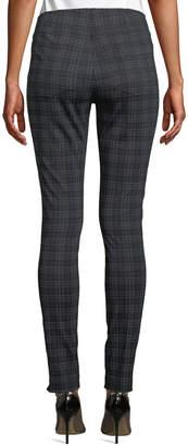 Neiman Marcus Plaid Jegging Pants