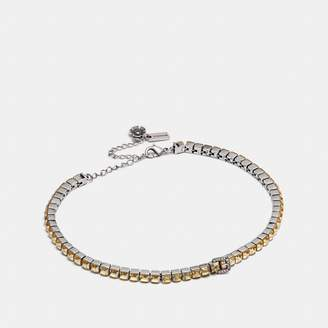 Coach Tennis Buckle Choker