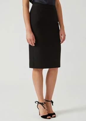 Emporio Armani Mid-Length Cady Pencil Skirt