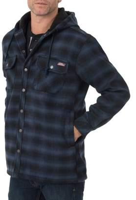 Dickies Genuine Mens Twill Polar Fleece Lined Shirt Jacket
